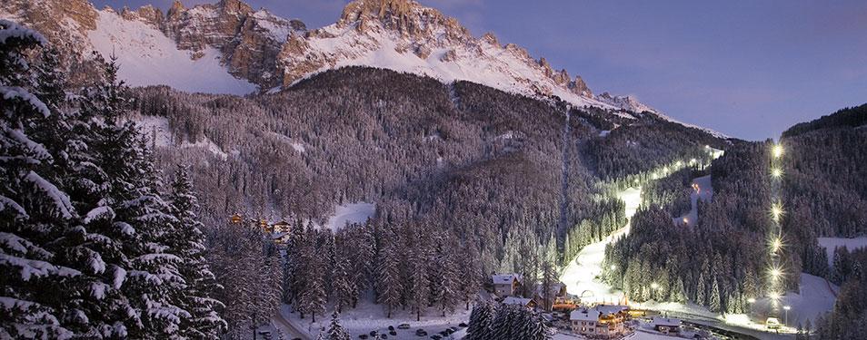 sci notturno obereggen Sci notturno, tragico incidente a Obereggen: si schianta con gli sci e muore